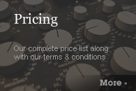 Pricing, Terms & Conditions