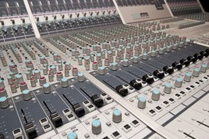 Mastering from stems is done in house on this desk | ASP